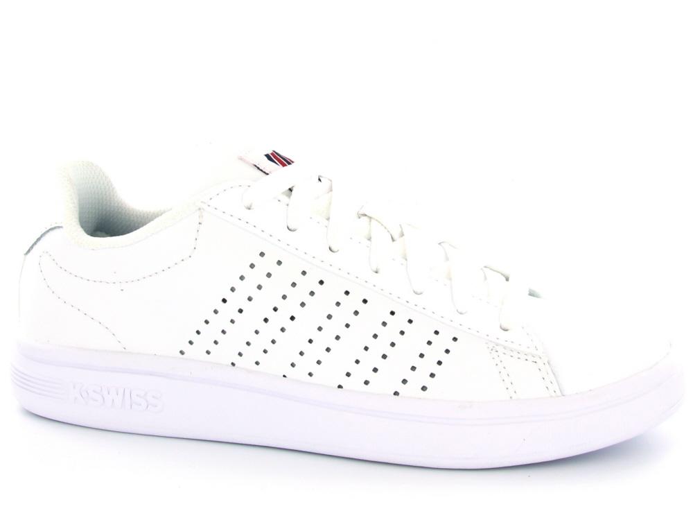 52b77bd2cce K-Swiss dames sneaker wit - Olthuis Schoenen
