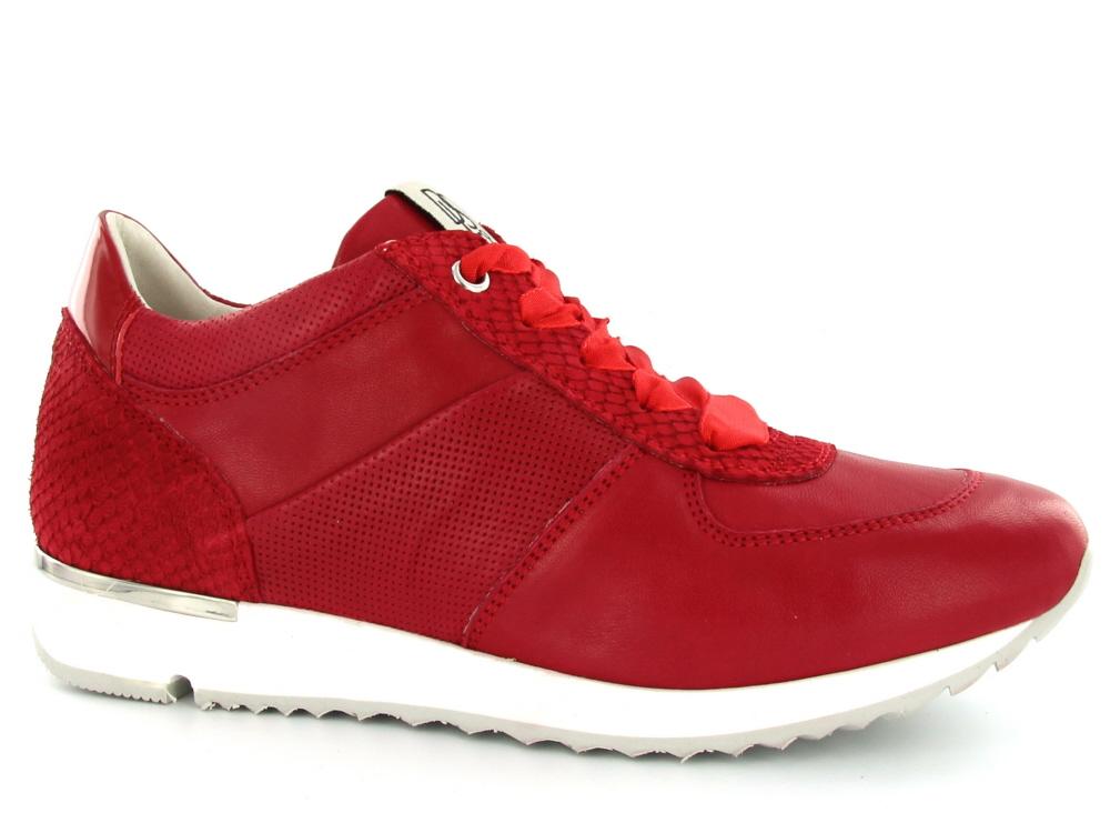 3b00c294d55 DL Sport dames sneaker rood - Olthuis Schoenen