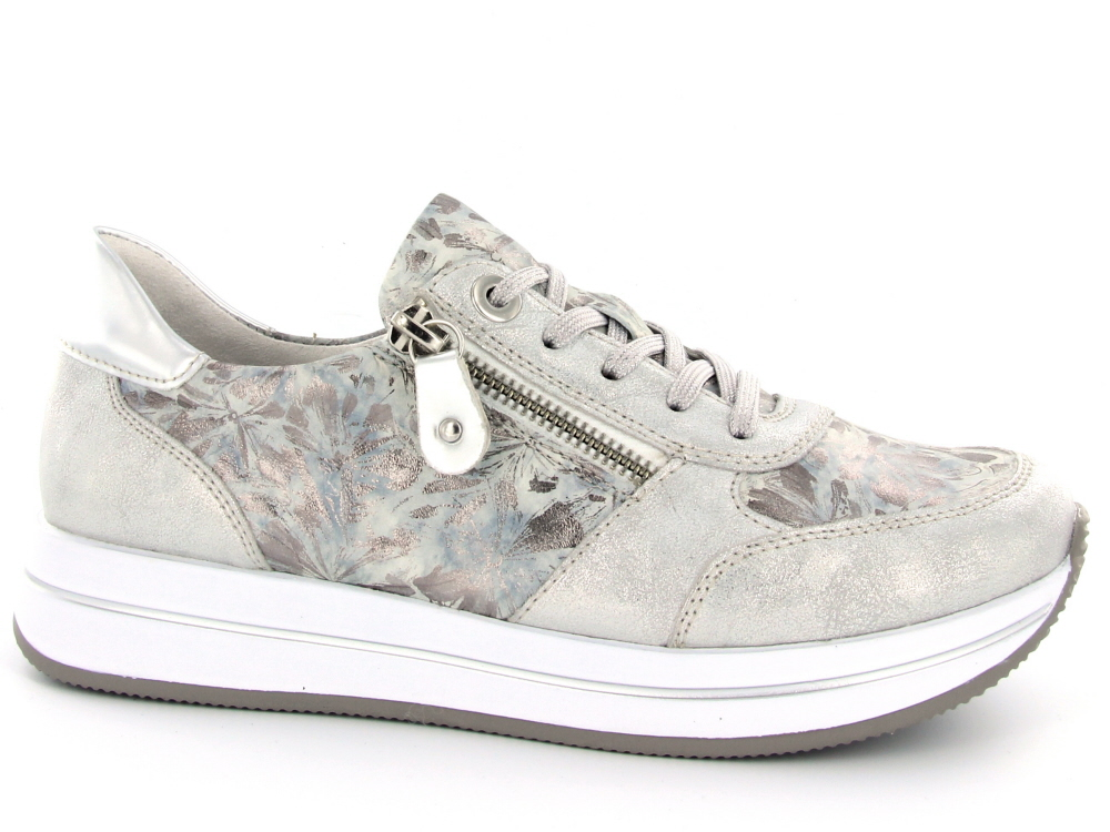1d72122108b Remonte dames sneaker zilver - Olthuis Schoenen