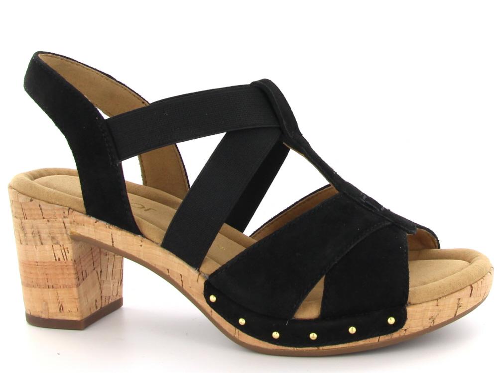 bfc6b60a161285 Click to enlarge. HomeShopDamesDames Sandalen Gabor dames sandaal hoge hak  zwart