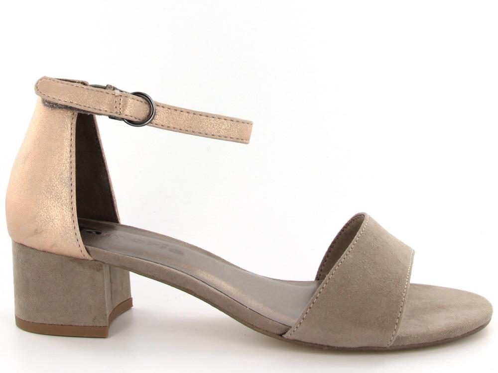 99285cf9725d7f Click to enlarge. HomeShopDamesDames Sandalen Tamaris dames sandaal hoge hak  taupe