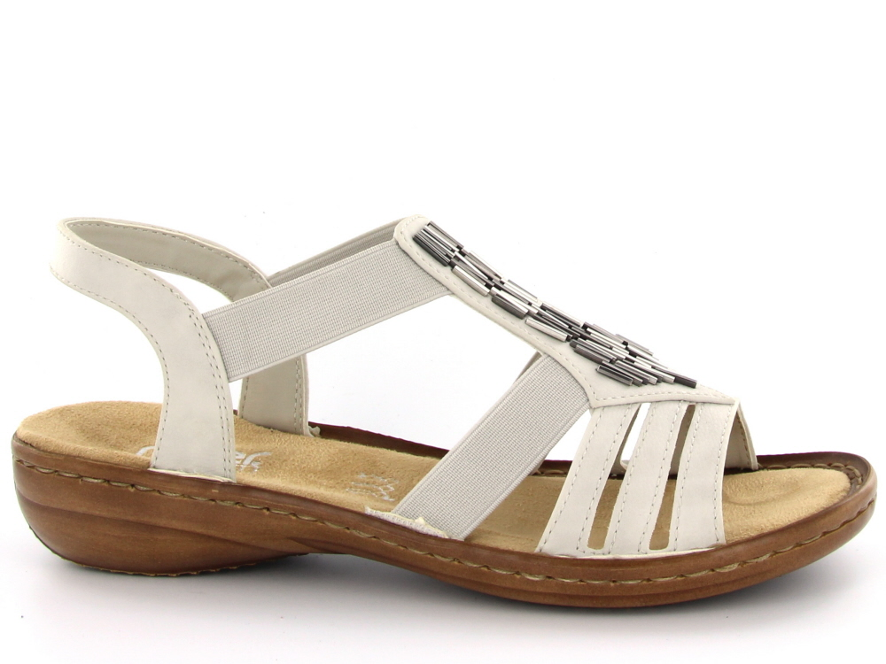 Rieker dames sandaal ecru