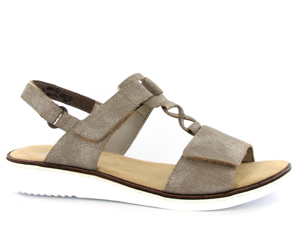 Rieker dames sandaal brons