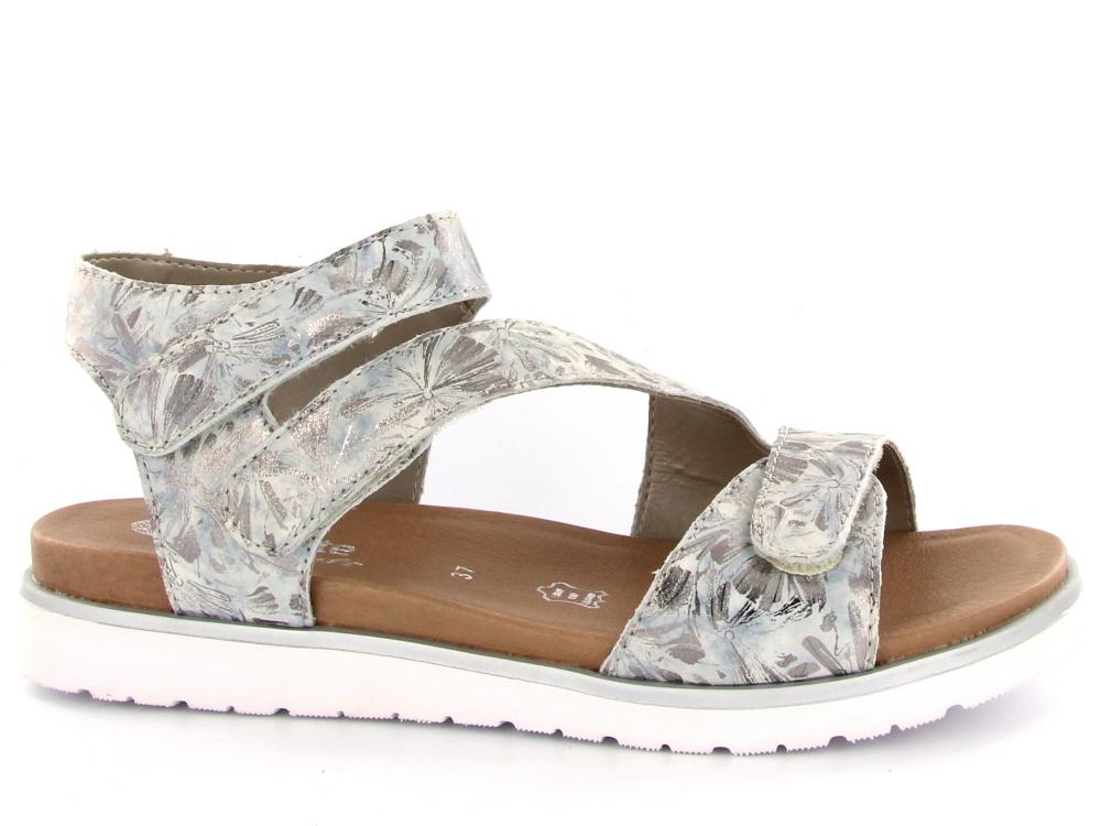 Bekend Remonte dames voetbed sandaal zilver - Olthuis Schoenen @HA37
