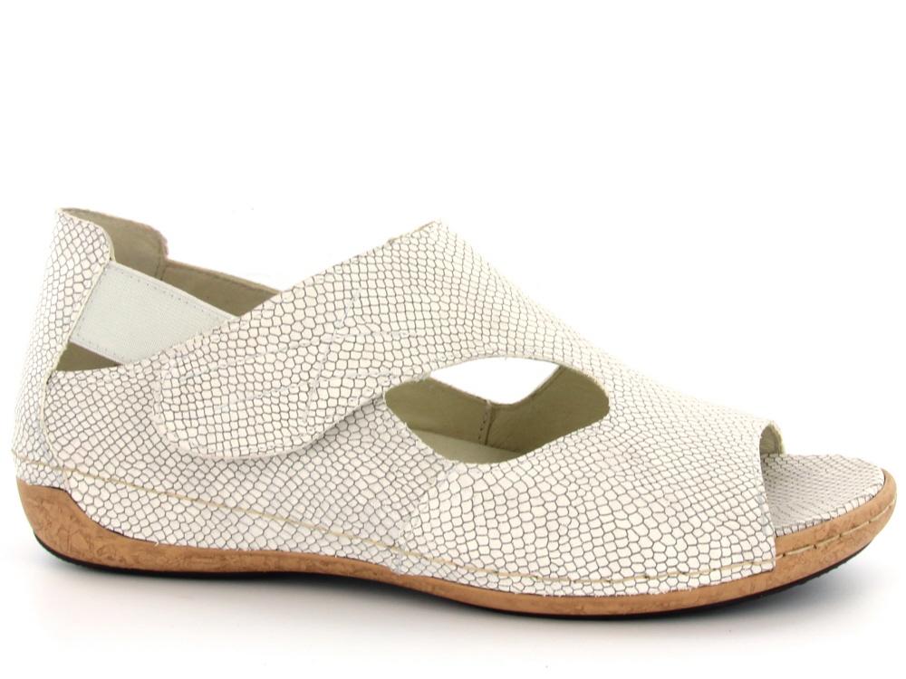 9bae3cc0c2a09c Click to enlarge. HomeShopDamesDames Sandalen Waldläufer dames comfort  sandaal zilver