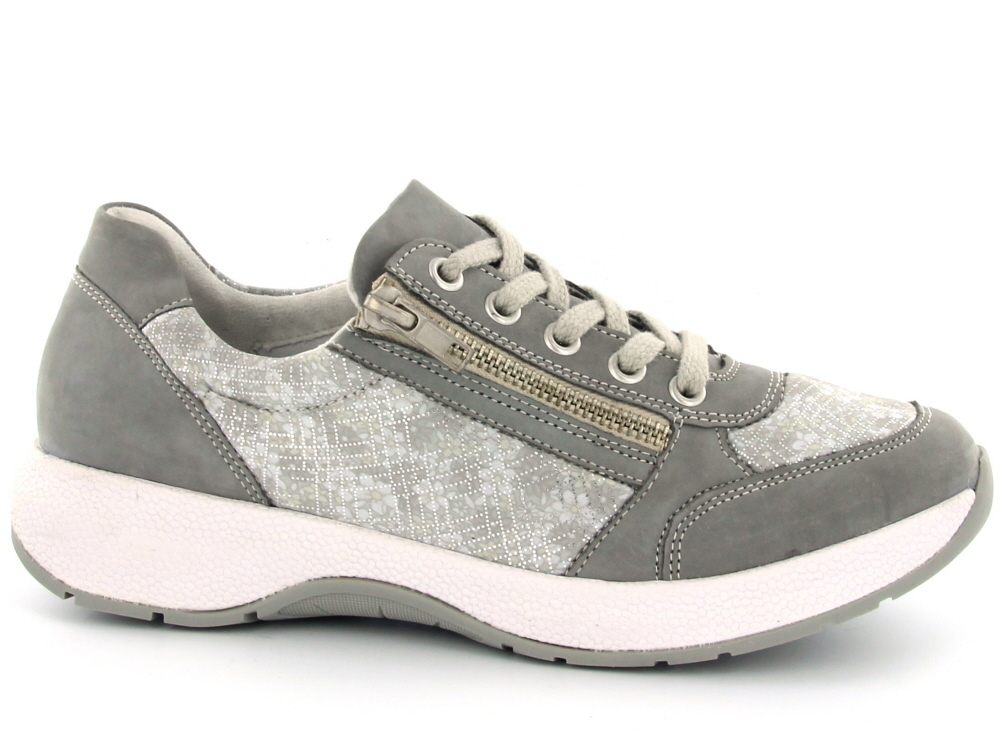 7e24deaa555 Click to enlarge. HomeShopDamesDames Schoenen Remonte dames sneaker licht  grijs